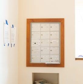 Stephen Zisson Elderly Residence Mailboxes