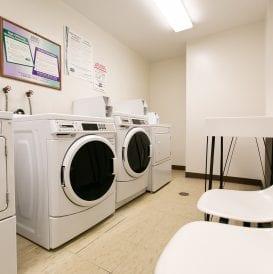 Stephen Zisson Elderly Residence Laundry Area