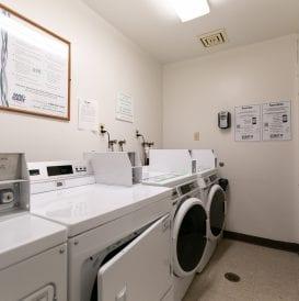 Power Block Laundry Area