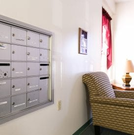 J. Michael Ruane Congregate Residence Mailboxes